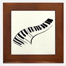 Piano Framed Tile