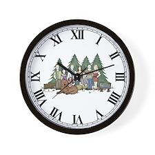 Twilight Family Characteriture Wall Clock