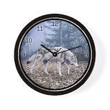 Animals wildlife Wall Clocks