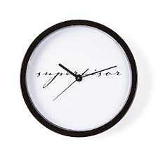 Script Supervisor Wall Clock