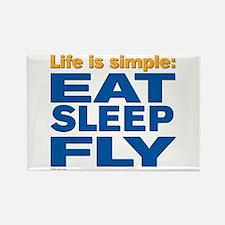 2-EatSleepFly Magnets