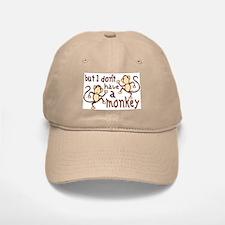 No Monkey Baseball Baseball Cap