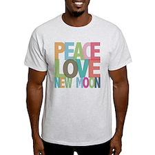 Peace Love New Moon T-Shirt