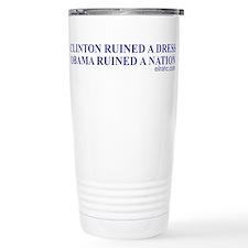 Ruined A Nation Travel Mug