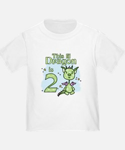 Lil Dragon 2nd Birthday T