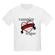 Vampire Baseball League TM (Heart) - Esme 95 T-Shirt