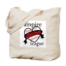 Vampire Baseball League TM (Heart) - Esme 95 Tote