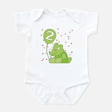Baby Dino 2nd Birthday Infant Bodysuit