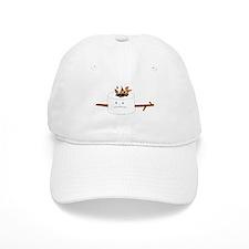 Campfire Marshmallow Baseball Cap
