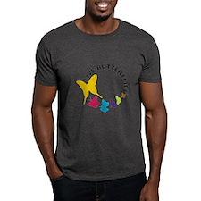 Live Butterflies Dark T-Shirt