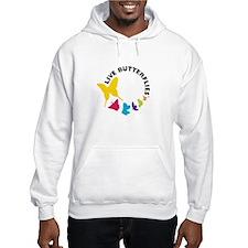 Live Butterflies Hooded Sweatshirt