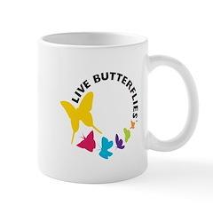 Live Butterflies Mug