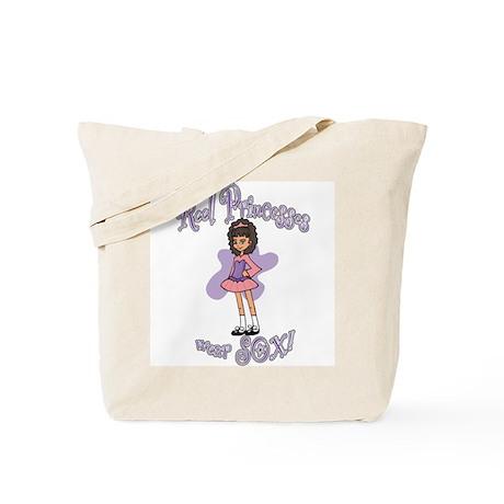 Reel Princesses Wear Sox! Tote Bag