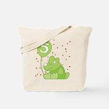 Baby Dino 5th Birthday Tote Bag