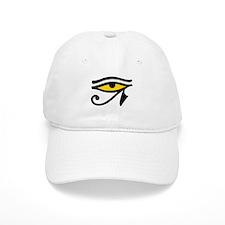 Yellow-fill Eye Baseball Cap