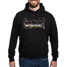 Feel the Flutter Hoodie (dark)