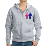 Men Vs. Women Women's Zip Hoodie