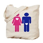 Men Vs. Women Tote Bag