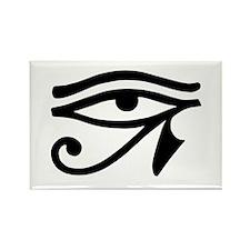 Black Eye Rectangle Magnet