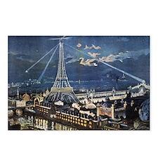 L' Exposition de Paris Postcards (Package of 8)
