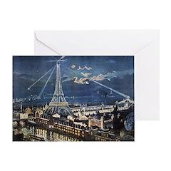 L' Exposition de Paris Greeting Card