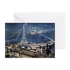 L' Exposition de Paris Greeting Cards (Pk of 20)