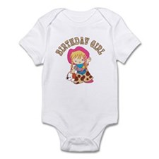 Cowkid's Birthday Girl Infant Bodysuit