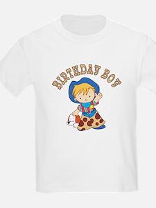 Cowkid's Birthday Boy T-Shirt
