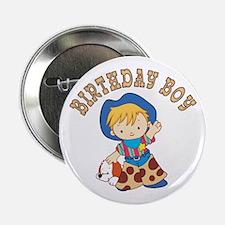 """Cowkid's Birthday Boy 2.25"""" Button"""