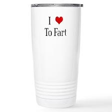 I Heart To Fart Travel Mug