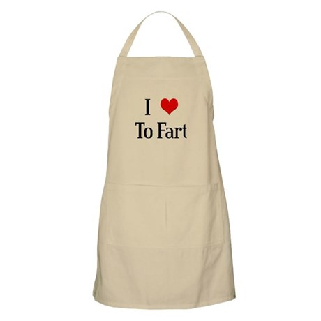 I Heart To Fart BBQ Apron