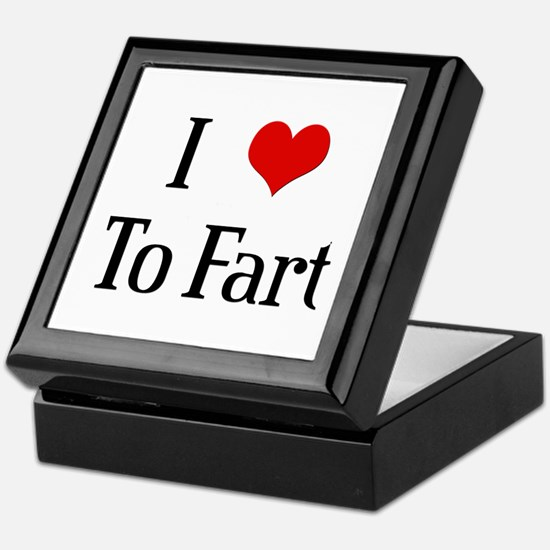 I Heart To Fart Keepsake Box