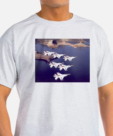 Thunderbirds Ash Grey T-Shirt