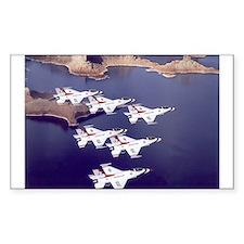 Thunderbirds Rectangle Decal