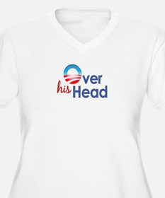 Obama Over His Head T-Shirt