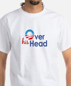 Obama Over His Head Shirt