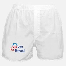 Obama Over His Head Boxer Shorts