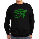 Green Eye Sweatshirt (dark)