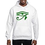 Green Eye Hooded Sweatshirt