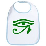 Green Eye Bib
