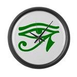 Green Eye Large Wall Clock