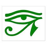 Green Eye Small Poster