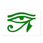 Green Eye Postcards (Package of 8)
