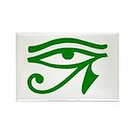 Green Eye Rectangle Magnet (10 pack)