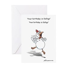Birthday Chicken Greeting Card