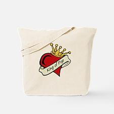 King of Pop Tote Bag