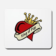 King of Pop Mousepad