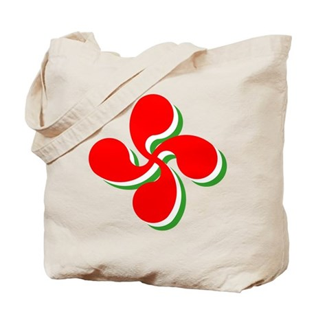 3 Color Lauburu Tote Bag