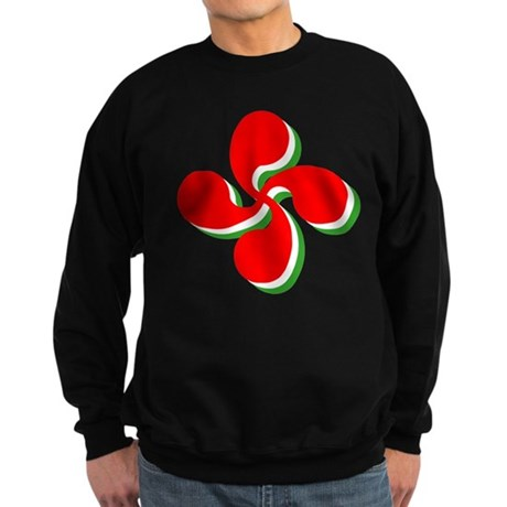 3 Color Lauburu Sweatshirt (dark)
