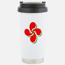 3 Color Lauburu Travel Mug